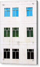 Windows 9 Acrylic Print
