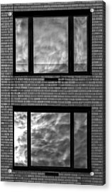 Windows And Clouds Acrylic Print by Robert Ullmann