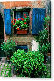 Windows And Doors 2 Acrylic Print