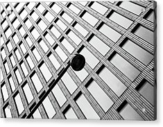 Windows And Lamp Acrylic Print by Inge Schuster