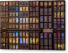 Windows Browser Acrylic Print by Peter Bijsterveld