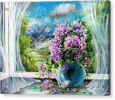 Windows Of My World Acrylic Print