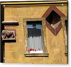 Windows To Budapest Acrylic Print by Judith Morris