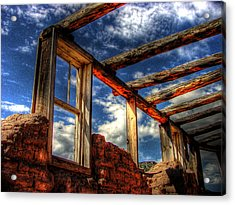 Windows To The Past Acrylic Print by Timothy Bischoff
