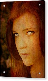 Windows To The Soul Acrylic Print by Loriental Photography