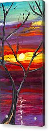 Winds Of Change Middle Acrylic Print by Jessilyn Park