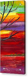 Winds Of Change Right Acrylic Print by Jessilyn Park