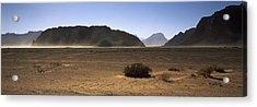 Windswept Desert, Wadi Rum, Jordan Acrylic Print by Panoramic Images