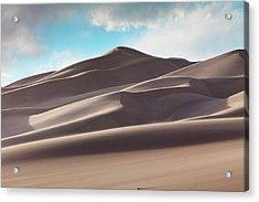 Windswept Dunes Acrylic Print