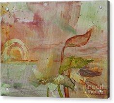 Windswept Acrylic Print by Robin Maria Pedrero