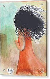 Windy Beginnings Acrylic Print by Frank Williams