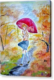 Windy Day Acrylic Print
