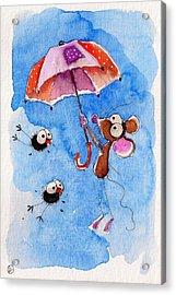 Windy Days Acrylic Print by Lucia Stewart