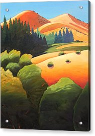 Windy Hill Trip. Revisit Panel One Acrylic Print