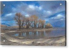 Windy Point Acrylic Print