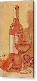 Wine And Sunshine One Acrylic Print