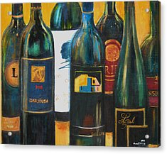 Wine Bar Acrylic Print