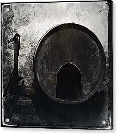 Wine Barrel Acrylic Print by Marco Oliveira