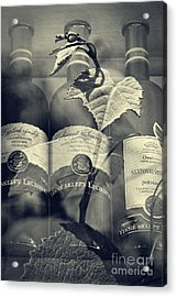 Wine - Beginning And The End Acrylic Print by Martin Dzurjanik