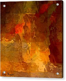 Wine By Candlelight Acrylic Print by Lisa Kaiser