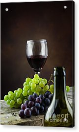 Wine Concept Acrylic Print by Mythja  Photography
