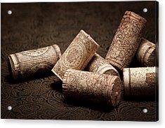 Wine Corks Still Life IIi Acrylic Print by Tom Mc Nemar