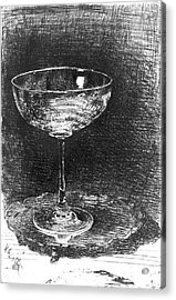 Wine Glass 1860 Acrylic Print by Padre Art