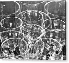 Wine Glasses , Mexico City, 1925 Acrylic Print by Tina Modotti