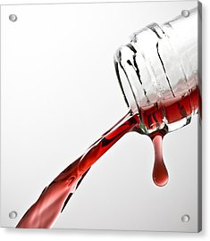 Wine Pour Acrylic Print by Frank Tschakert