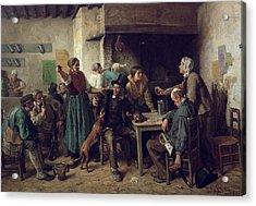 Wine Shop Monday, 1858 Acrylic Print