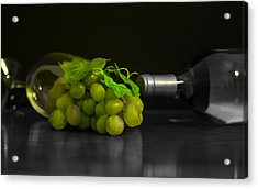 Wine Acrylic Print by Stephen Smith
