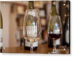 Wine Tasting Acrylic Print by Patricia Hofmeester