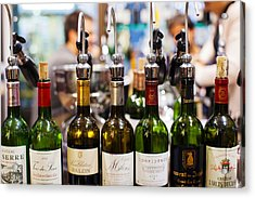 Wine Tasting, Saint-emilion, Gironde Acrylic Print by Panoramic Images