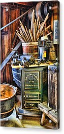 Winemaker - Time For A New Vintage Acrylic Print by Lee Dos Santos