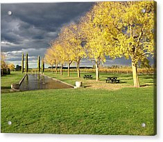 Winery Acrylic Print by Ron Torborg