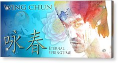 Wing Chun Eternal Springtime Acrylic Print