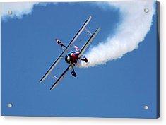Wing-walking Display Acrylic Print