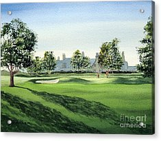 Winged Foot West Golf Course 18th Hole Acrylic Print