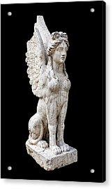 Winged Sphinx Acrylic Print by Fabrizio Troiani