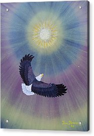 Wings Of Eagles Acrylic Print