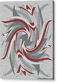 Wings Tile 3 Acrylic Print by Brian Johnson