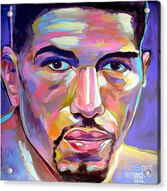 Acrylic Print featuring the painting Winky Wright by Robert Phelps
