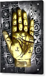 Winning Hand Acrylic Print