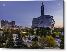 Winnipeg Dawn Acrylic Print