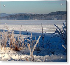 Winnisquam Winter Acrylic Print