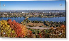 Winona In Autumn Acrylic Print