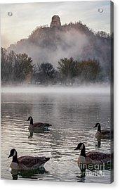Winona Photograph Heavy Traffic At East Lake Winona Acrylic Print
