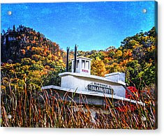 Winona Steamboat Sign Acrylic Print