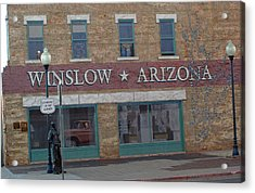 Winslow Arizona Acrylic Print