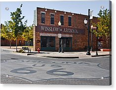 Winslow Arizona - Such A Fine Sight To See Acrylic Print
